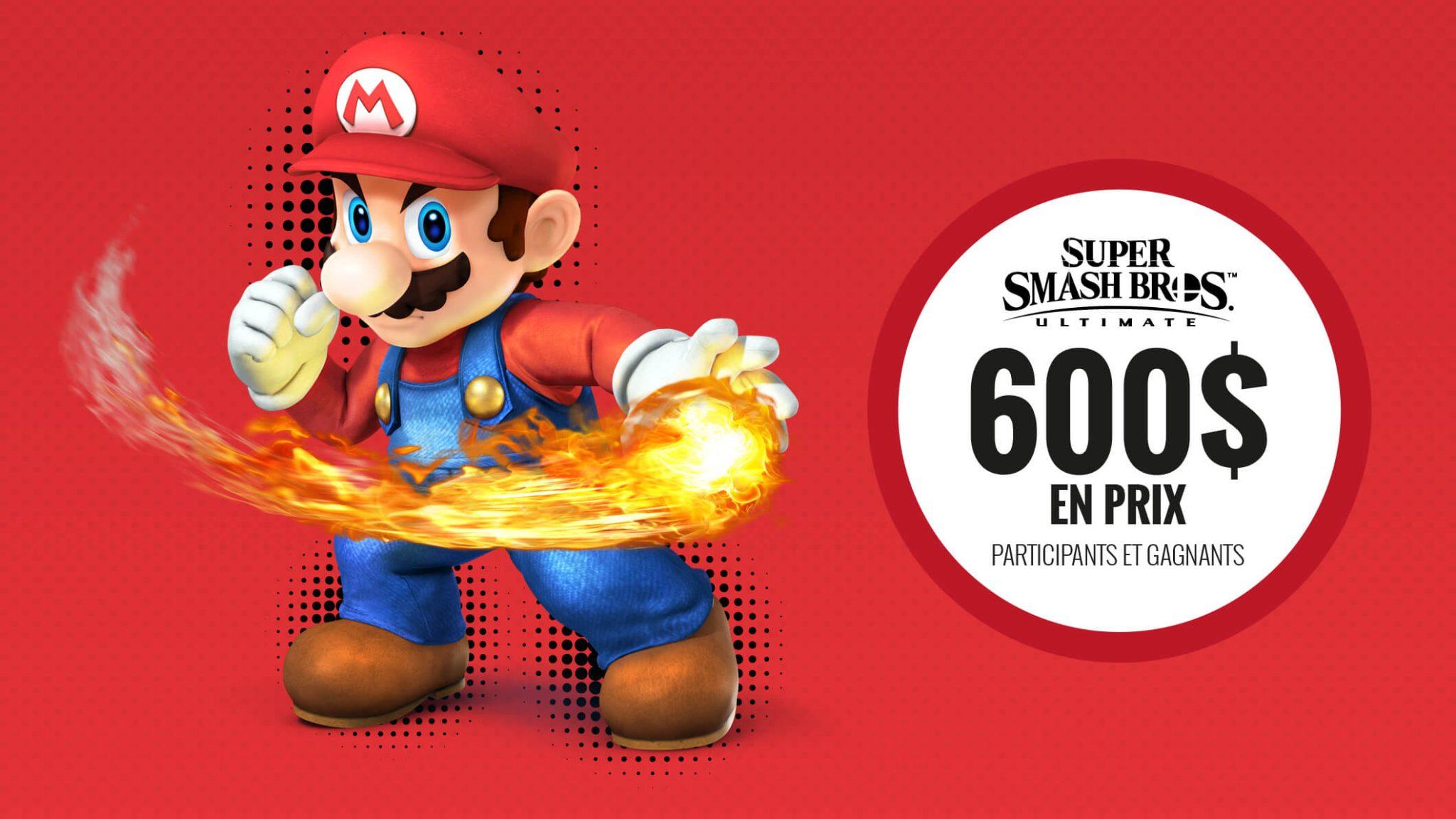 Tournoi en ligne : Super Smash Bros Ultimate