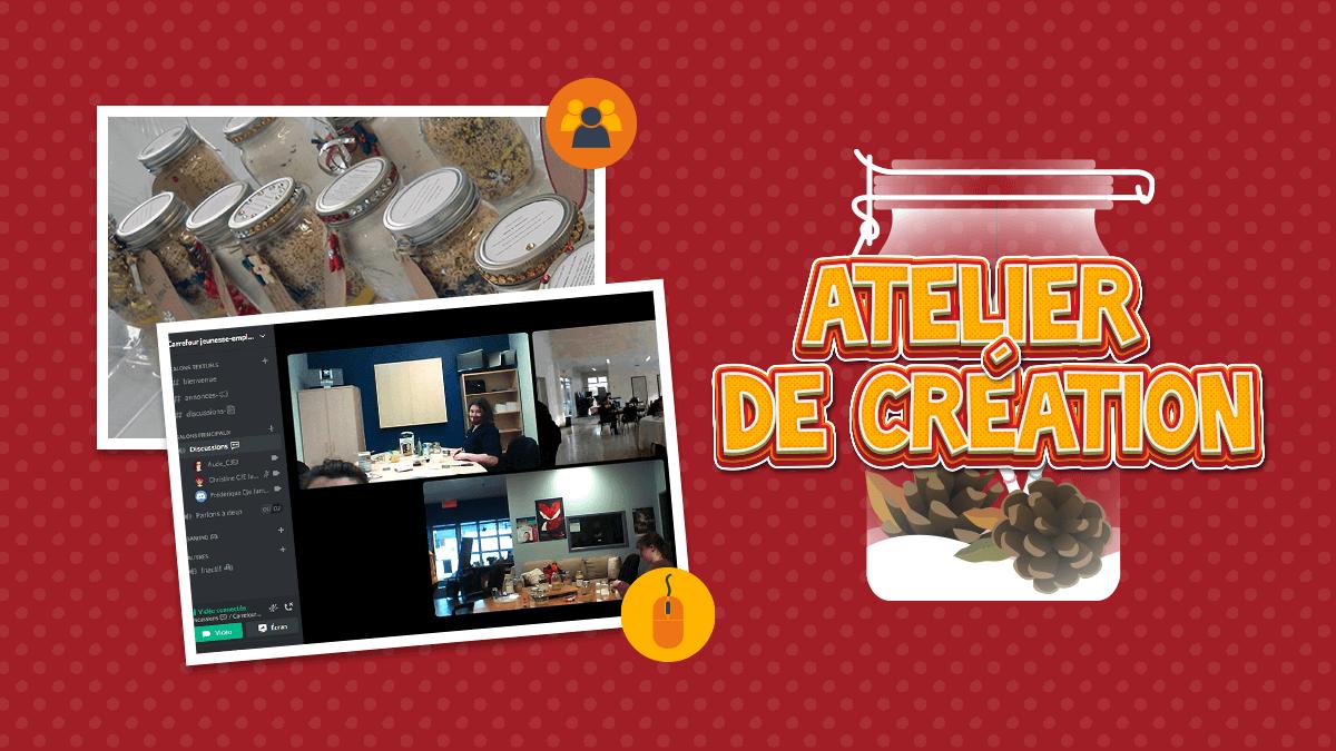 Read more about the article Atelier création de cadeaux en ligne ou au CJE de ta municipalité